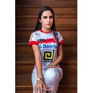 Camisa São Luiz Branco E Vermelho 2020