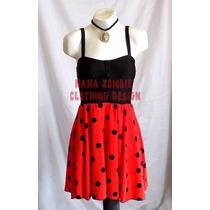 Vestido Pin Up Rockabilly Vintage