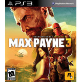 Max Payne 3 - Digital Ps3