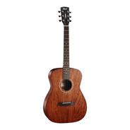 Cort Af510 Mahogany Guitarra Acustica Con Funda