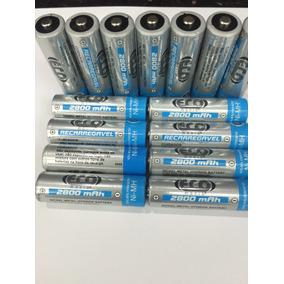 Bateria Pila Recargable De 2800 Mah Aa Pilas Eco Manía