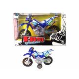 Juguete Motocross 19cm A Fricción Fast Niños Juguete Moto