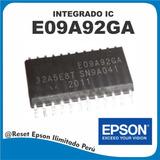 Integrado Ic E09a92ga - Reparación Placa Lógica Epson
