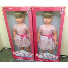 Duas Bonecas Amiguinhas Estrela Novas