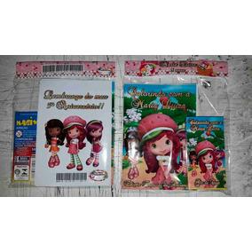 20 Kit Revistinhas Livrinho Colorir+giz Qualquer Tema 10x15