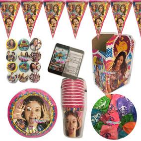 Soy Luna Kit Articulos De Fiesta 20 Niños Platos Dulceros
