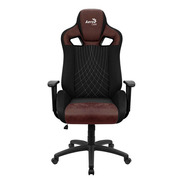Silla Gamer Aerocool Earl Burgundy Red