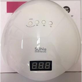 Cabine Led Uv Sun One 5 Digital Com Timer Sensor Bivolt 48w