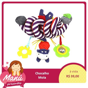 Chocalho Colorido Móbile Infantil Barato