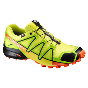 Tenis Hombre Salomon Trail Running Verde Speedcross 4 Gtx
