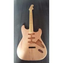 Corpo E Braço De Guitarra Stratocaster Handmade