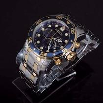 Lindo Relógio Invicta Masculino Pro Diver Scuba 0077+promoçã