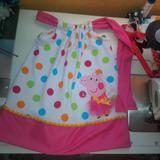 Vestido Niña Bebe Minnie, Peppa, Pig Fresas
