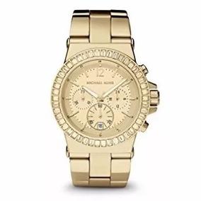 Relógio Feminino Michael Kors Mk5861 Luxo Dourado Cx C6429