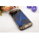 Capa Flip Tpu Anti Queda Celular Samsung Galaxy S7 Edge 5.5
