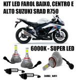 Kit Led Moto Suzuki Gsx R750 Srad 2010 2011 2012 2013 Farol