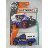 Enigma777 Matchbox Camioneta Travel Trecker Azul 96/125
