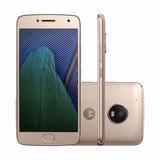 Celular Moto G5 Plus Gold Tv Hd Ouro Sensor Digital Dourado