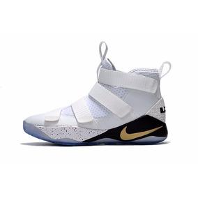 Zapatilla Nike Basquet Lebron 11 Soldier Novedad 897644-101
