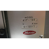Fuente Para Laboratorio Dc 0/125 Volt 1 Amp Metronix