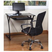 Escrivaninha Mesa + Cadeira Escritório Computador Trabalho