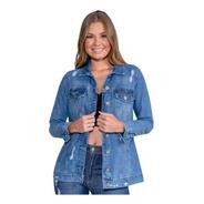 Jaqueta Jeans Feminina Max Revanche
