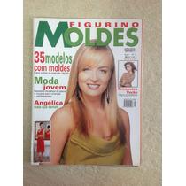 Revista Figurino Moldes Angélica 35 Modelos Com Moldes N°1