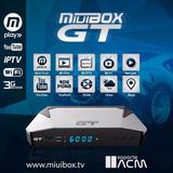 Decodificador Miuibox Gt + Plus 2gb Kodi Acm Iks Tecnosat