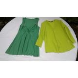 Blusa De Dama..talle M.muy Bonita Y Sentadora .nueva Verde