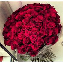 Ramo De 100 Rosas Maxima Calidad.