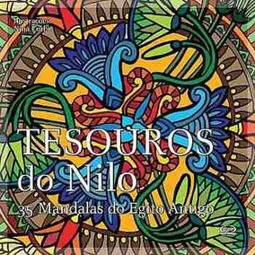 Livro Jardim Secreto- Mandalas Tesouros Do Nilo