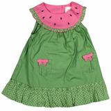 Vestido Gymboree Watermelon Para Bebitas De 3 A 6 Meses