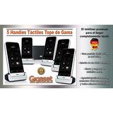 Mini Central Telefónica 5 Handies Táctil - Graba Llamadas