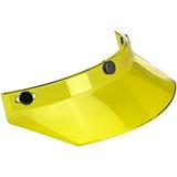Biltwell 3-snap Moto Visera (amarillo, Un Tamaño) (para...