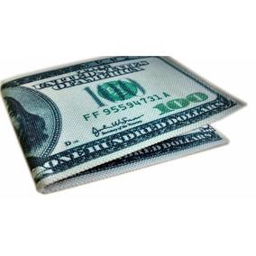 Carteira Pequena Masculina Feminina Dollar Top Up
