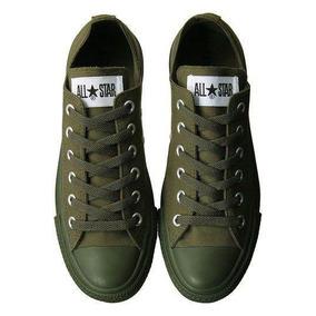 converse verde militar precio