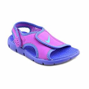 Sandalia Nike Sunray Adjust 4 Kids Feminina Original + N F