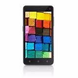 Smartphone Tablet Mini - Ms50 - 3g Quad Core, 2 Chips Preto