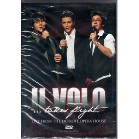 Dvd Il Volo Takes Flight Live Detroit Nacional Lacrado Raro!