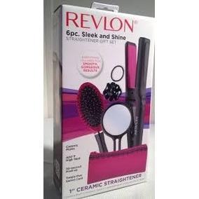 Plancha De Cabello Revlon Kit De 6 Piezas Modelo Rvst2152pk1
