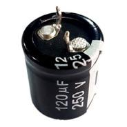 Capacitor Eletrolitico 120uf/250v 105ºc