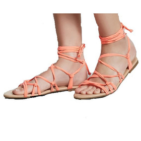 Sandalias De Mujer Forever 21 Color Coral