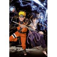 Impresión Foto - Poster Naruto Shippuden 60 X 90 Cm