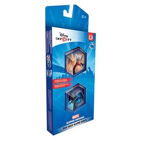 Disney Infinity 2.0 Marvel Toy Box Game Discs