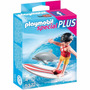 Playmobil Special Plus 5372 Niña Con Tabla De Surf