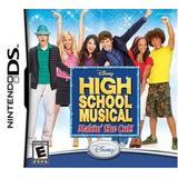 Juego Para Nintendo Ds High School Musical. Nuevo Y Sellado