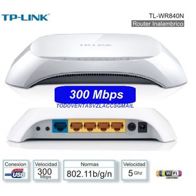 Router Inalambrico Tp-link Tl-wr840n 300mbps Doble Antna Int