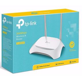 Roteador Tp-link Tl-wr 840n 2 Antena 300mbps Wireles Atacado