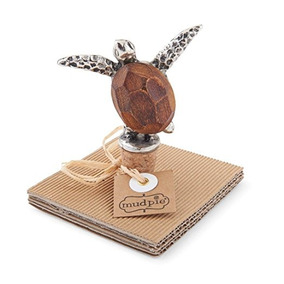 Barro Pastel 4371009 Tortuga Figura Tapón De La Botella, Bro