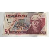 Billete $50 Pesos Banco De Mexico 1999 Papel Muy Escaso S/c